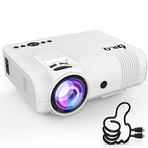 (DR. J Professional 2800 Brightness Home Theater Mini Projector Max. 170