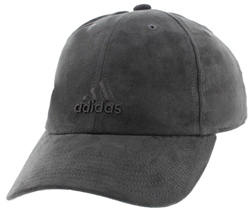 - adidas Women's Saturday Plus Relaxed Adjustable Cap, dark grey, One Size