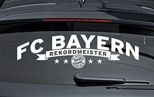Bayern München Autoaufkleber Rekordmeister