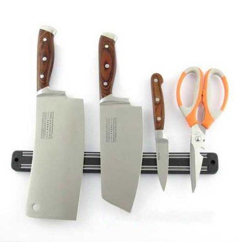 Wall Mount Magnetic Knife Storage Holder Chef Rack Strip Ute