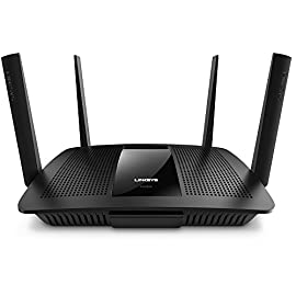 Linksys AC2600 4 x 4 MU-MIMO Dual-Band Gigabit Router with USB 3.0 and eSATA (EA8500) 72 Works with Amazon Alexa.IPv6 compatible: Yes 4x4 MU-MIMO (Multi-User MIMO) technology delivers four data streams for a seamless entertainment experience MU-MIMO handles heavy network traffic and high-bandwidth activities on multiple devices at the same time