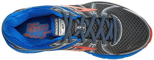 Brooks Uomo Defyance 10 Scarpe Da Corsa Multicolore (ebano / Blu / Arancio 1d025)