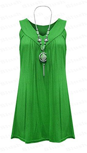 Fatal Fashion - Vestido - ajustado - para mujer Jade Green
