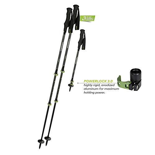 Komperdell C3 Carbon Powerlock (Carbon Ski Komperdell Poles)