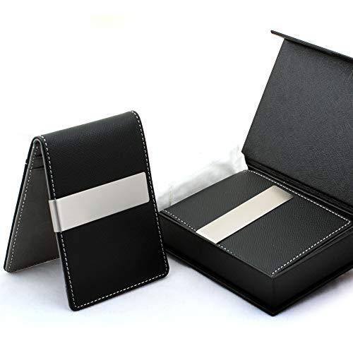 Free Engraving - Groomsmen Gift, Money Clip Wallet - Mens Wallets slim Front Pocket Card Holder Bifold Gift Box (Grey) -