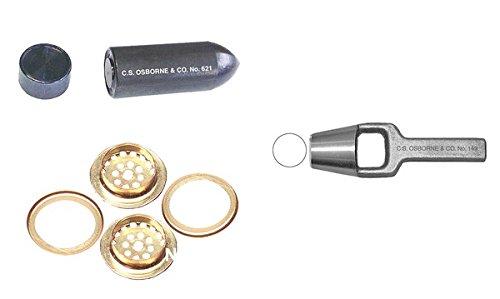 cs-osborne-co-3-4-ventilator-kit-punch-no-149-9-16-setter-no-621-3-4-144-qty-no-v-1-3-4-brass-ventil