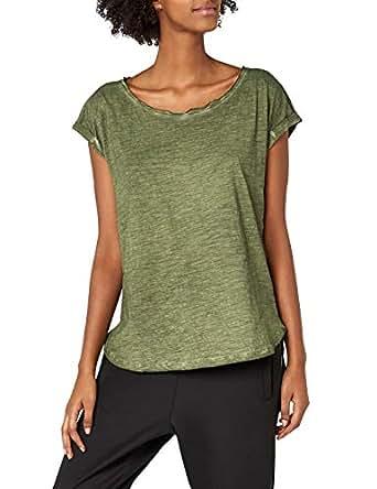 Urban Classics Ladies Long Back Shaped Spray Dye tee, Camiseta para Mujer: Amazon.es: Ropa y accesorios