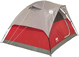 90641fa4d0f Amazon.com   COLEMAN Flatwoods WeatherTec 4 Person Family Camping ...