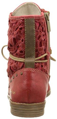 Mustang 1157527, botas de tobillo Mujer Rojo (5 Rot)