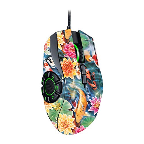 MightySkins Skin for Razer Naga Hex V2 Gaming Mouse - Koi Pond | Protective, Durable, and Unique Vinyl Decal wrap Cover | Easy to Apply, Remove, and Change Styles | Made in The USA