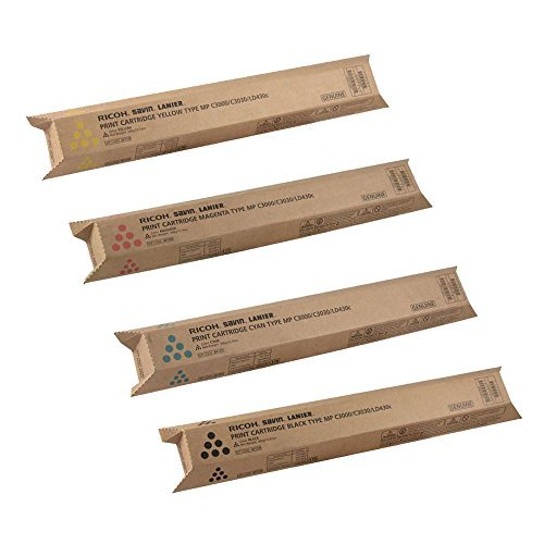 Ricoh Aficio MP C3000 Standard Yield Toner Cartridge Set