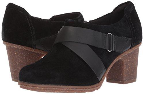 Femme Pour Mode Noir Clarks Baskets APqxCzWw7
