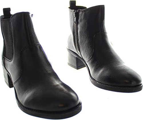 Lotus Rubay Womens Heeled Chelsea Boots Black