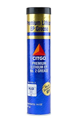 Citgo CITPLITH2-10 Premium Lithium EP 2 Grease, 10 Pack