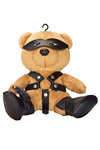 Teddy Bear Collectible Bondage Doll Toy - (Naughty Halloween Jokes For Adults)