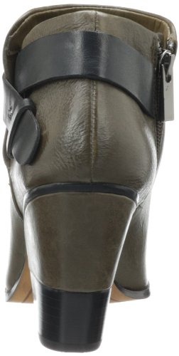 Dolce Vita Womens Hilary Bootie Olive Leather