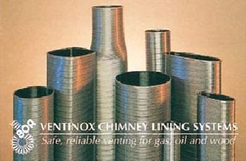 6'' VG AL29-4C Stainless Steel Liner (priced per foot - order in 1 foot increments)