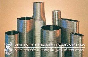 5'' VG AL29-4C Stainless Steel Liner (priced per foot - order in 1 foot increments)