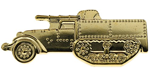 Miniature Replica Military Tank Destroyer Truck WWII Hat or Lapel Pin - Miniature Destroyer