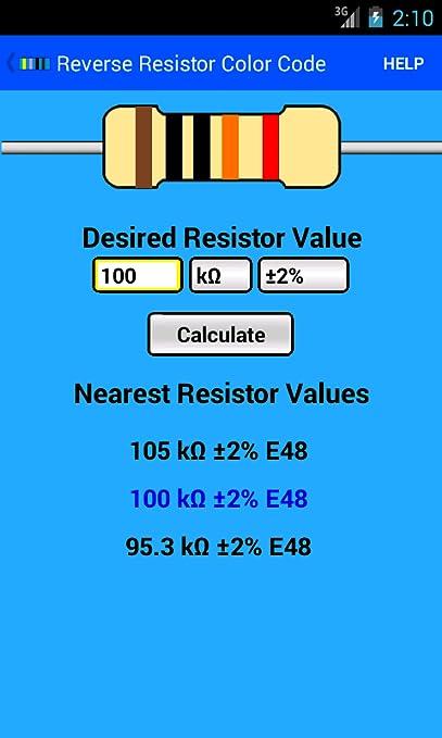 Resistor Color Code Calculator