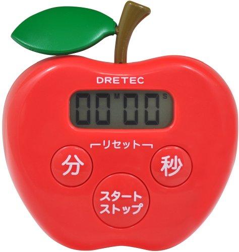 505 Apple (DRETEC apple timer Red T-505RD)
