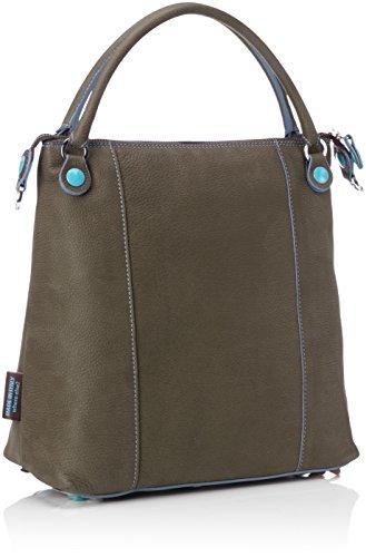 GABS Gsac - Shoppers y bolsos de hombro Mujer Marrón (Mud)