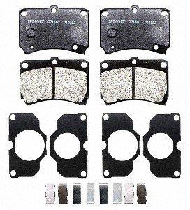 Raybestos PGD466AM Professional Grade Semi-Metallic Disc Brake Pad Set