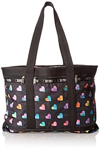 LeSportsac Travel Tote Handbag,Wild At Heart,One Size