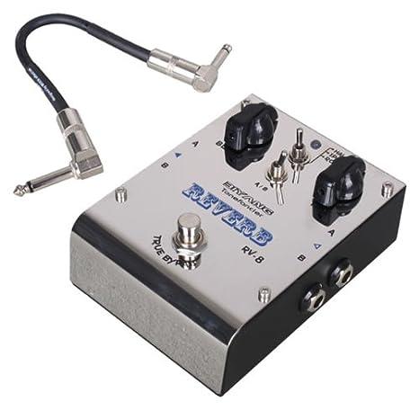 """Biyang Pedal De Efecto de Guitarra Eléctrica Bass estéreo """"reverb + libre Donner Cable"""