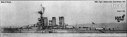 Combrig 1/700 Battlecruiser HMS Tiger, 1914, resin kit #70285 CombrigModels