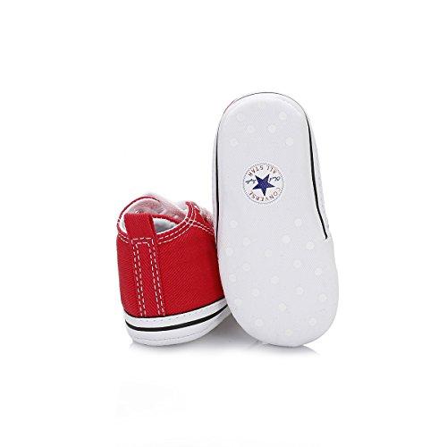 Converse Chucks FIRST STAR HI Red