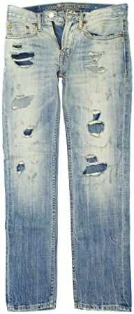 American Eagle Men's Slim Straight Jean 3446 (Light Repair)