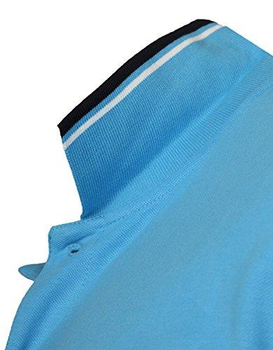 Antonio Basile Herren Poloshirts Blau BAS3-AZZURO