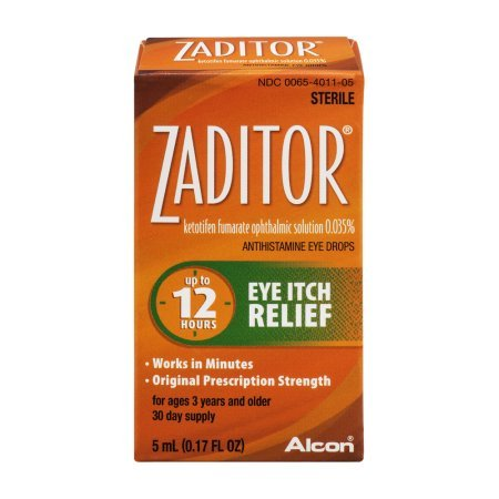 Zaditor Eye Drops - Special Value 2 Packk (10 ml Total )