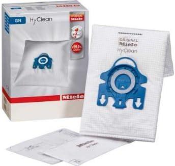 S 600 4 Staubsaugerbeutel Miele GN HyClean 3D für Miele Allergy Control Plus