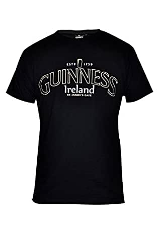 Guinness Distressed English Label Tee