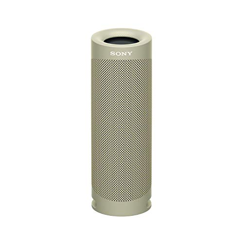 Sony SRS-XB23 EXTRA BASS Wireless Portable Speaker IP67 Waterproof BLUETOOTH and Built In Mic for Phone Calls, Taupe (SRSXB23/C)