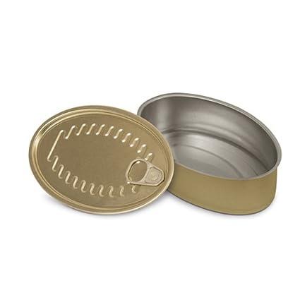 Supreminox ovalados para Aperitivo latas, 11 x 7 cm, de Aluminio, Multicolor,