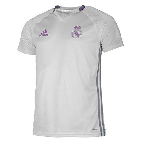 9b8c7bdea Galleon - 2016-2017 Real Madrid Adidas Training Shirt (White)