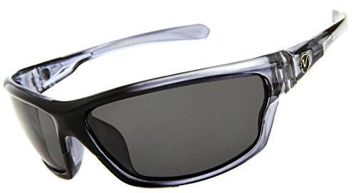 0993a6ea43b Nitrogen Men s Rectangular Sports Wrap 65mm Polarized Sunglasses - Buy  Online in UAE.