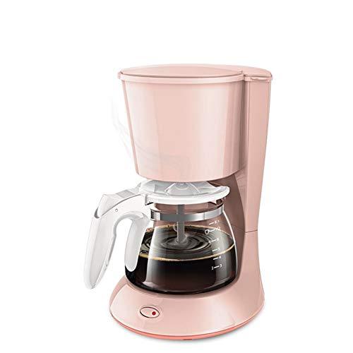 ASDFGT-778 700W de Estilo Americano Capacidad 220-240V 50 / 60Hz 600 ml de Goteo Cafetera Anti Goteo de Fugas pequeño y…