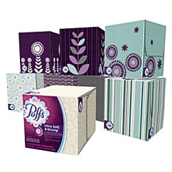 Puffs Ultra Soft & Strong Facial Tissues; 1344 Count; 24 ...