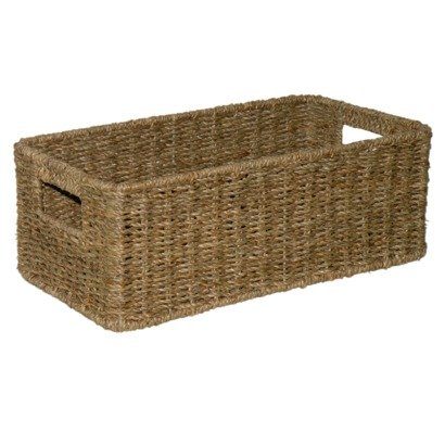 Seagrass CD / DVD Basket Media Container  sc 1 st  Amazon.com & Amazon.com : Seagrass CD / DVD Basket Media Container : Audio Video ...
