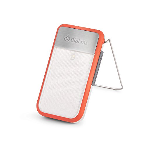 (BioLite PowerLight Mini Wearable Light and Power Bank, Red)