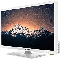 Grunkel - LED-240 HB - Televisor LED Full HD Alta definición - 24 pulgadas - Blanco: Amazon.es: Electrónica
