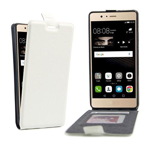 Funda Huawei P9 Lite,Manyip Caja del teléfono del cuero,Protector de Pantalla de Slim Case Estilo Billetera con Ranuras para Tarjetas, Soporte Plegable, Cierre Magnético C
