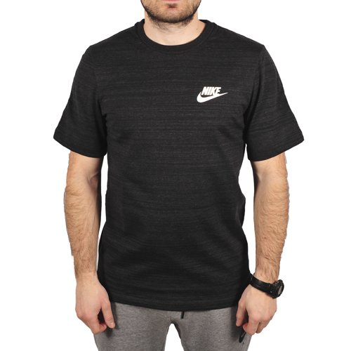 Nike Men's Sportswear Advance 15 Knit Top Black Size 2XL