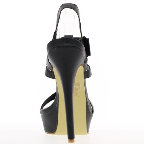ChaussMoi - Sandalias de vestir de material sintético para mujer