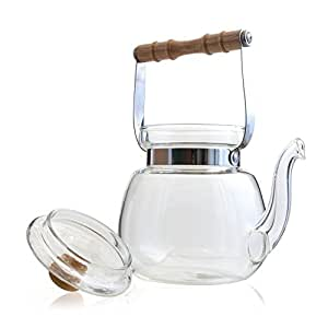 Yama Glass Chinese Water Kettle (40 oz)