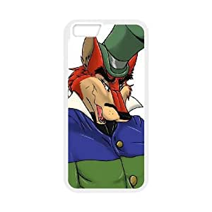iPhone 6 4.7 Inch Cell Phone Case White Disney Pinocchio Character J. Worthington Foulfellow 006 PW1568721